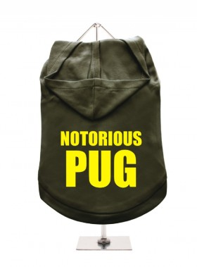Notorious Pug Unisex Hoodie (Available in 9 colours)