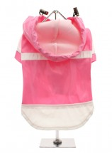 Urban Pup Candy Pink Raincoat