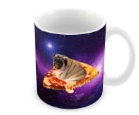 Pizza Pug Mug