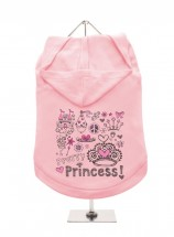 Urban Pup Pretty Princess Hoodie In Size XL (Available in 4 colours)