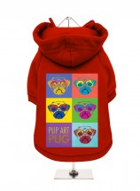 Urban Pup Pug Art Unisex Sweatshirt In Size XL (Available in 6 colours)