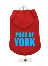 Pugs Of York Unisex Hoodie (Available in 3 colours )