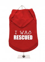 I Was Rescued  Unisex Hoodie (Available in 7 colours )