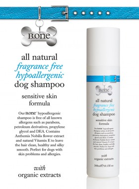 All Natural Hypoallergenic Dog Shampoo (300ml)