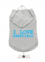 I Love Sheffield Unisex Hoodie (Available in 3 colours )