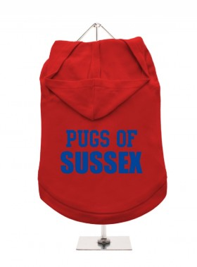 Pugs Of Sussex Unisex Hoodie (Available in 4 colours )