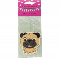 Pug Vanilla Air Freshener