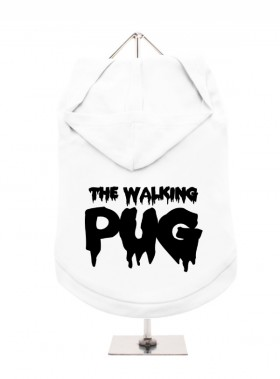 The Walking Pug Unisex Hoodie  (Available in 10 colours)