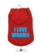 I Love Wham! Unisex Hoodie  (Available in 3 colours)