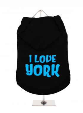 I Love York Unisex Hoodie (Available in 3 colours )