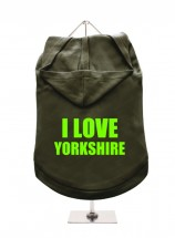 I Love Yorkshire Unisex Hoodie (Available in 6 colours )