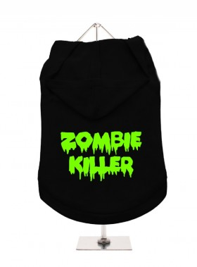 Zombie Killer Pug Unisex Hoodie  (Available in 4 colours)