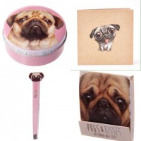 Strawberry Pug Beauty Gift Set