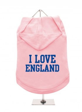 I Love England Unisex Hoodie (Available in 7 colours )