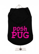 Posh Pug Unisex Hoodie (Available in 3 colours )