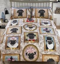 Pugsly Family Single Duvet Set