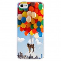 Balloon Pug iPhone Cover (For all iPhone models)