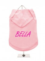 Bella Pug Hoodie (Available in 4 colours )