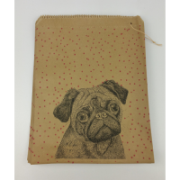 Cute Pug Paper Bag/Gift Bag