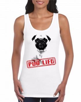 Ladies Pug Life Vest