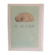 Pug Loaf Blank Card