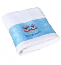 Pug Pool Party Bath Towels