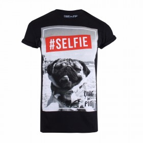 Doug The Pug Unisex Selfie T-Shirt