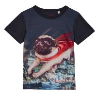 Child's Superhero Pug T-Shirt