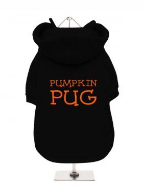 Pumpkin Pug Hooded Sweater