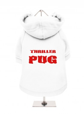 Thriller Pug Hooded Sweater