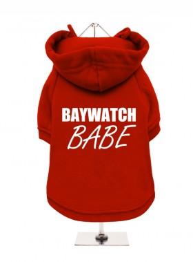 BAYWATCH BAG  FLEECE LINED HOODED SWEATER