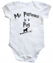 Unisex Pug Baby Vest (Size Newborn to 18months)
