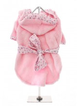 COSY FLEECE PINK BATH ROBE