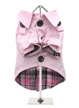 Urban Pup Light Pink  Trench Coat