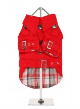 Urban Pup Red Trench Coat