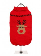 Urban Pup Red Rudolph Sweater