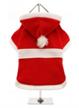 Urban Pup Red Santa fleece