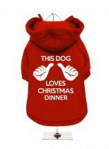 Funny Christmas Fleece Lined Hoodie