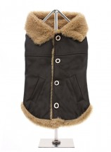 Urban Pup Fleece Lined Aviator Coat