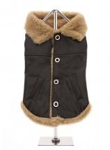 Urban Pup Fleece Lined Aviator Coat