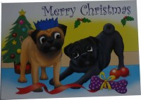 Christmas By The Tree Card