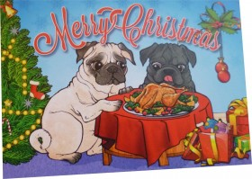Christmas Dinner Christmas Card