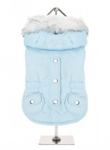 Urban Pup Blue Eskimo Fleece Lined Parka Coat