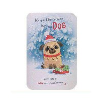 From The Dog Pug Christmas Card