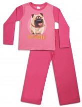 Mel The Pug Secret Life Of Pets Girls Pink Pjs