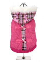 Urban Pup Highland Pink Quilted Coat