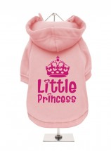 LITTLE PRINCESS FLEECE LINED HOODED SWEATER