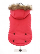 Urban Pup Salmon Pink Fleece Lined Coat