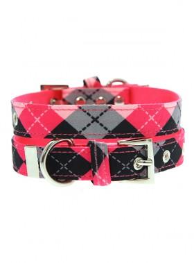 Urban Pup Pink Argyle Collar