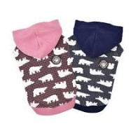 Puppia Polar Bear Hoodie (Available in 2 colours)